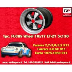 1 Stk. Felge Porsche 911 Fuchs 10x17 ET-27 5x130