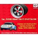 1 pc. cerchio Porsche 911 Fuchs 10x17 ET-27 5x130 IROC Look