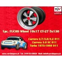 1 pz. llanta Porsche 911 Fuchs 10x17 ET-27 5x130 IROC Look