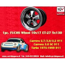 1 pc. Jante Porsche 911 Fuchs 10x17 ET-27 5x130 RSR style