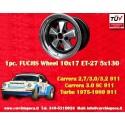 1 pz. llanta Porsche 911 Fuchs 10x17 ET-27 5x130 RSR style