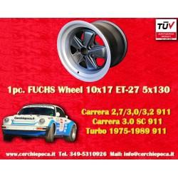 1 pc. cerchio Porsche 911 Fuchs 10x17 ET-27 5x130