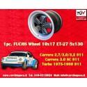 1 pc. Porsche 911 Fuchs 10x17 ET-27 5x130 wheel