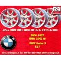 4 Stk. Felgen BMW Minilite 6x14 ET13 4x100