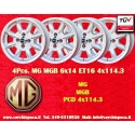 4 pcs MG MGB 6x14 4x114.3 ET16 wheels
