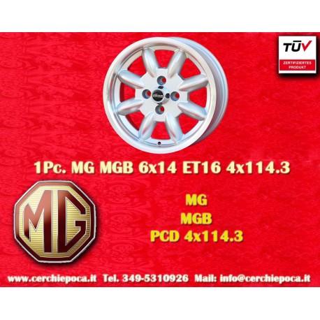 1 pc. MG MGB 6x14 ET16 4x114.3