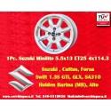 1 pz.  llanta Suzuki Minilite 6x14 ET16 4x114.3