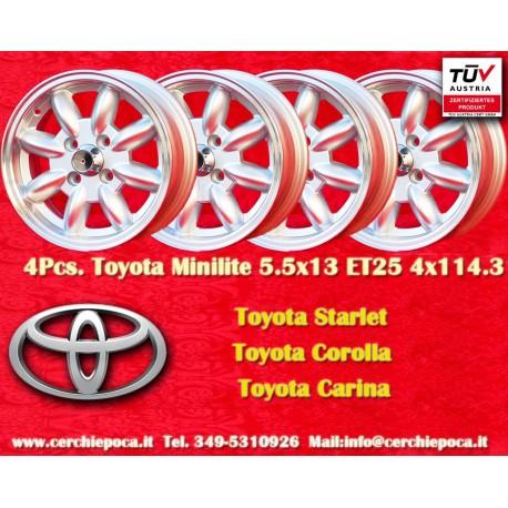Toyota 5.5x13 ET25 4x114.3