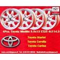 4 pcs. Minilite 5.5x13 ET25 4x114.3 wheels