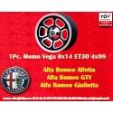 1 Stk. Felge Alfa Romeo Momo Vega 6x14 ET30 4x98