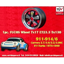 1 pc. jante Porsche 911 Fuchs 7x17 ET23.3 5x130