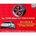 1 Stk. Felge Porsche 911 Fuchs 7x17 ET23.3 5x130 RSR