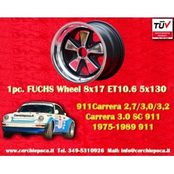 1 pc. Porsche 911 Fuchs 8x17 ET10.6 5x130 wheel Old School