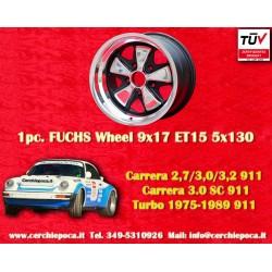 1 pc. cerchio Porsche 911 Fuchs 9x17 ET15 5x130 Old School