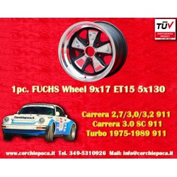 1 pc. Porsche 911 Fuchs 9x17 ET15 5x130w wheel Old School
