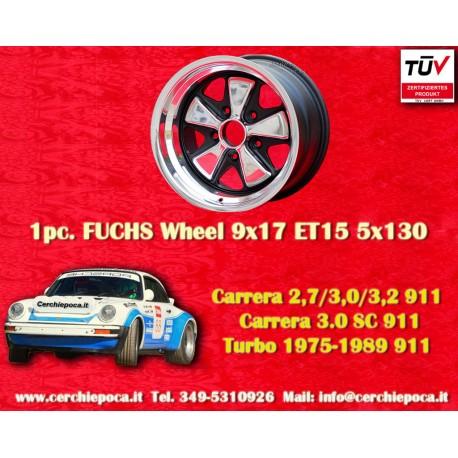 1 pz. llanta Porsche 911 Fuchs 9x17 ET15 5x130 Old School