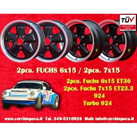 Porsche 911 Fuchs 6x15 ET36 + 7x15 ET23.3 5x130