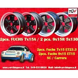 Set 4 pcs. Porsche 911 2 pcs. 7x15 ET23.3 + 2 pcs. 9x15 ET15 TUV