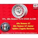 1 pz. Llanta Alfa Romeo GT GTA GIULIA 7x15 ET29 4x108