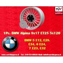 1 Stk. Felge BMW Alpina style 8x17 ET25 5x120