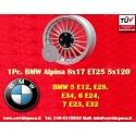 1 pc. Alpina style 8x17 ET25 5x120 wheel