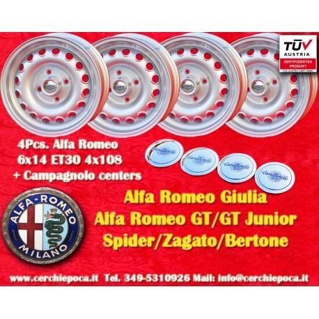 Alfa Romeo Campagnolo 6x14 ET30 4x108