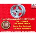 1 Stk. Felge Fiat Campagnolo style  7x13 ET10 4x98