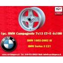 1 Stk. Felge BMW Campagnolo style 7x13 ET+5 4x100