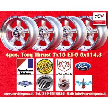Torq Thrust style 7x15 ET-5 5x114.3