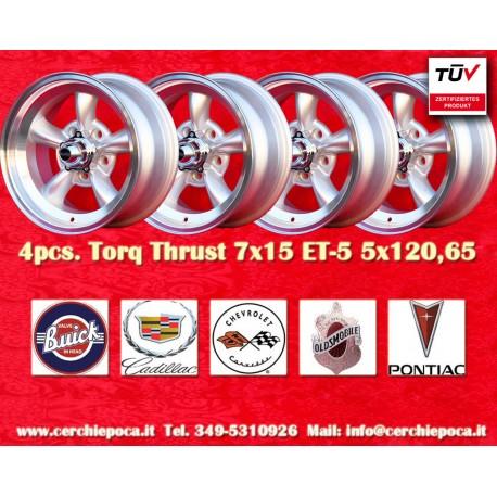 Torq Thrust style 7x15 ET-5 5x120.65Catalogo  Prodotti