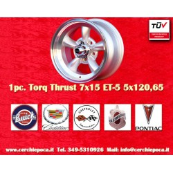 Torq Thrust style 7x15 ET-5 5x120.6