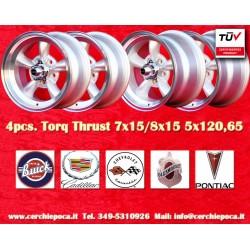 Torq Thrust style 2 pcs. 7x15 ET-5 + 2 pcs. 8x15 ET0 5x120.65