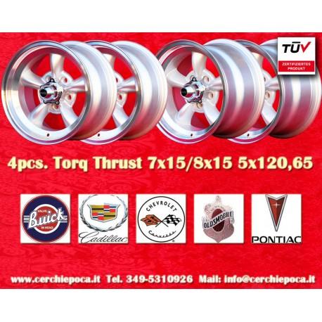 Torq Thrust style 2 pcs. 7x15 ET-5 + 2 pcs. 8x15 ET0  5x114.3