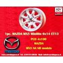 1 Stk. Felge Mazda MX5 Minilite 6x14 ET13 4x100