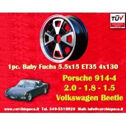 Porsche 914 Fuchs 5.5x15 ET35 4x130