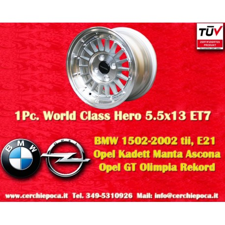 1 pc. Fiat World Class Hero 7x13 ET7 4x98 wheel