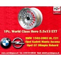 1 pc. BMW Opel Working Class Hero 5.5x13 ET7 4x100 wheel