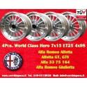 4 pz. Ruedas para Alfa Romeo 7x15 ET25 4x98 PCD 4x98
