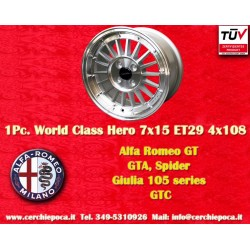1 pz. llanta Alfa Romeo GT GTA GIULIA 7x15 ET29 4x108 by Davide Cironi