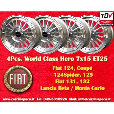 4 pz. llantas Fiat 7x15 ET25 4x98 by Davide Cironi