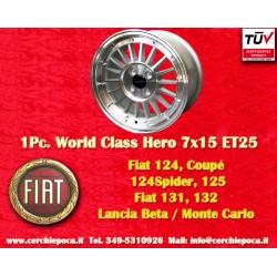 1 pc Fiat 7x15 ET25 4x98 by Davide Cironi wheel