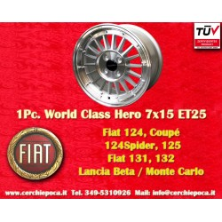 1 pc cerchio Fiat 7x15 ET25 4x98 by Davide Cironi