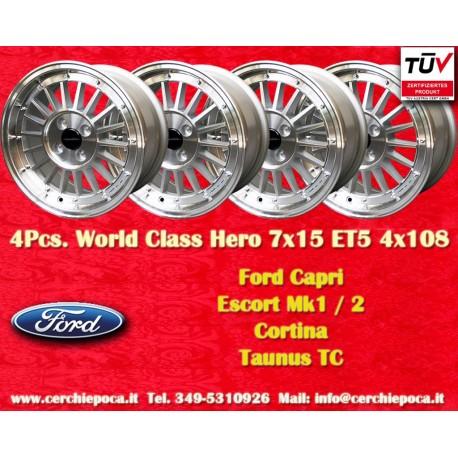 4 pcs. Ford 7x15 ET+5 4x108 wheels by Davide Cironi