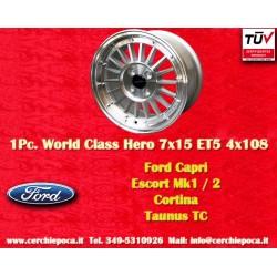 1 Stk. Felge Ford 7x15 ET+5 4x108 by Davide Cironi