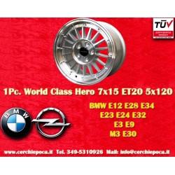4 pcs. cerchi BMW 7x15 ET20 5x120 by Davide Cironi
