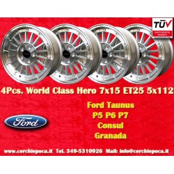 4 pcs.cerchi Ford 7x15 ET25 5x112 by Davide Cironi