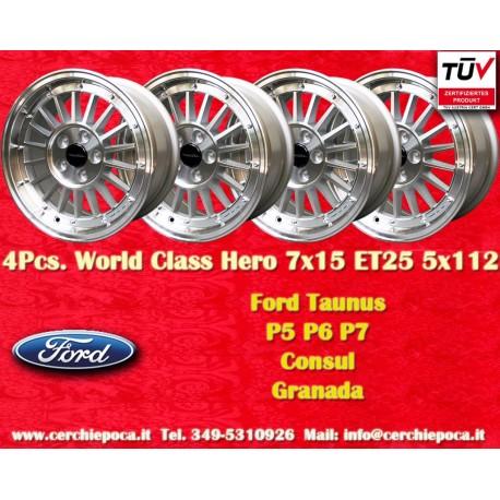 4 pcs. Ford 7x15 ET25 5x112 by Davide Cironi wheels
