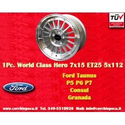 Ford Taunus Granada Consul 7x15 ET25 5x112 by Davide Cironi
