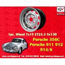 1 pc. Porsche 911 912 914 7x15 ET23.3 steel wheels