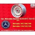 1 pc. Mercedes Benz Barock Bundt Cake 8x16 ET11 5x112 wheel